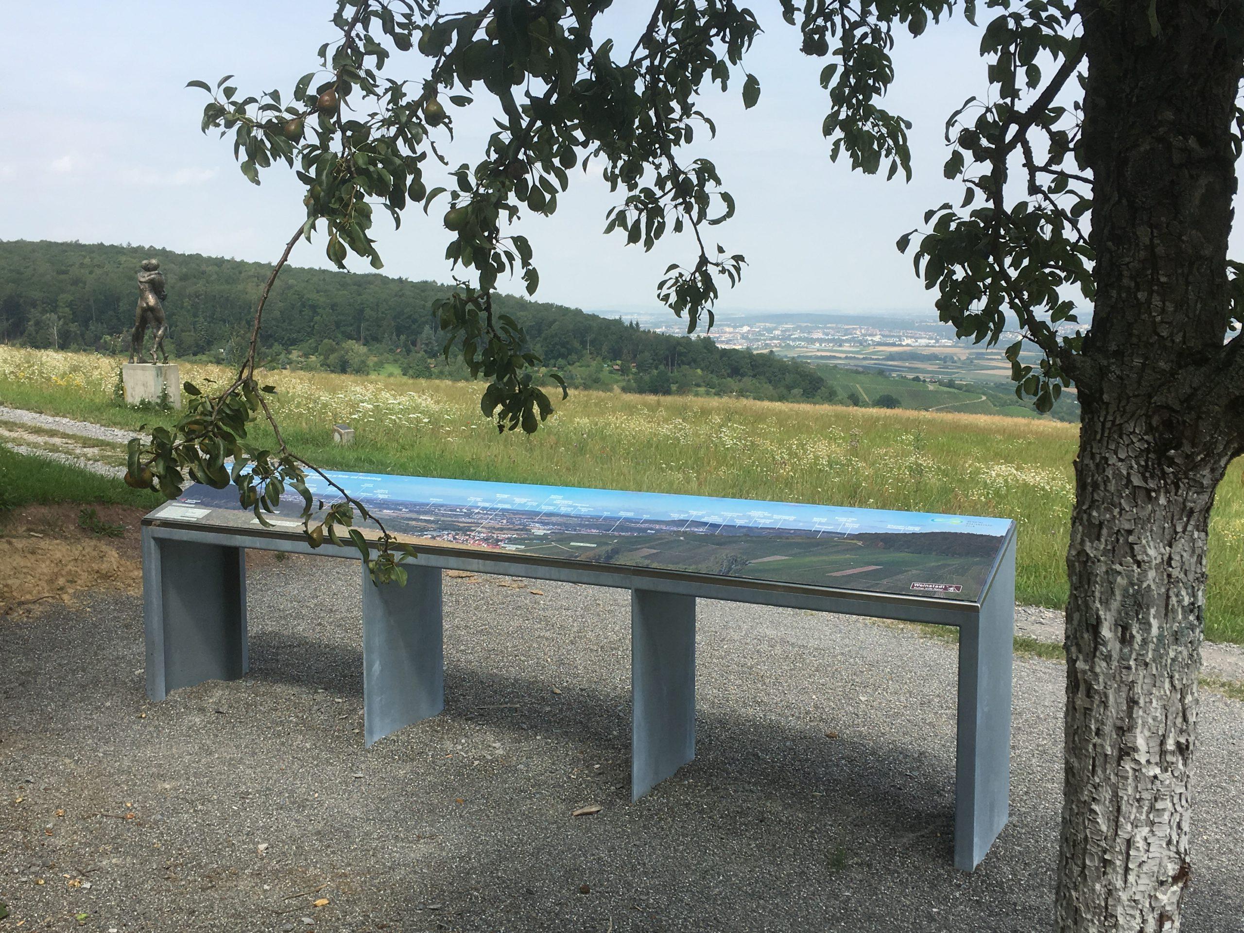 Panoramaausblick vom NaturFreundehaus Strümpfelbach